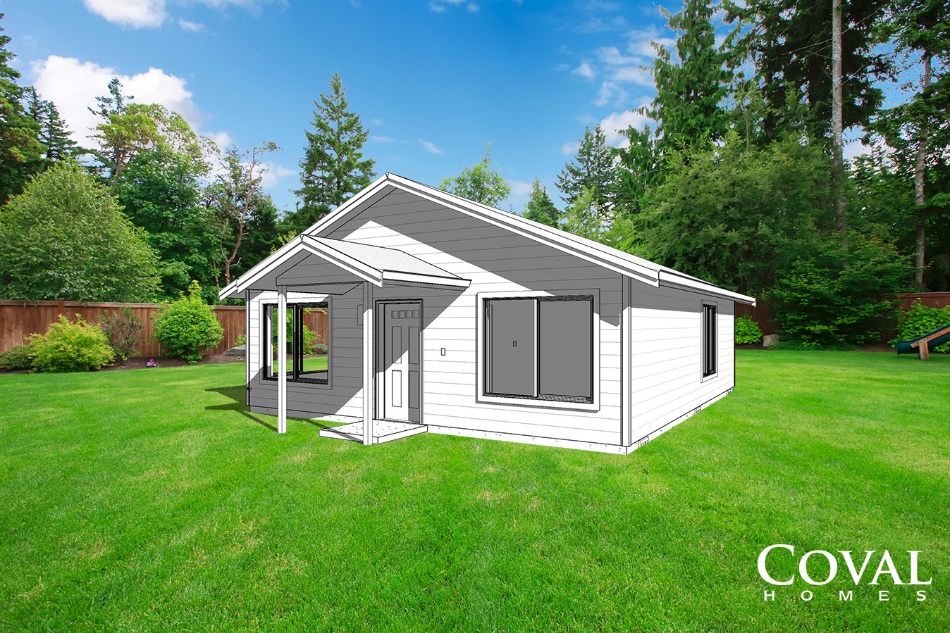 Built on Your Lot - Coval Homes ADU
