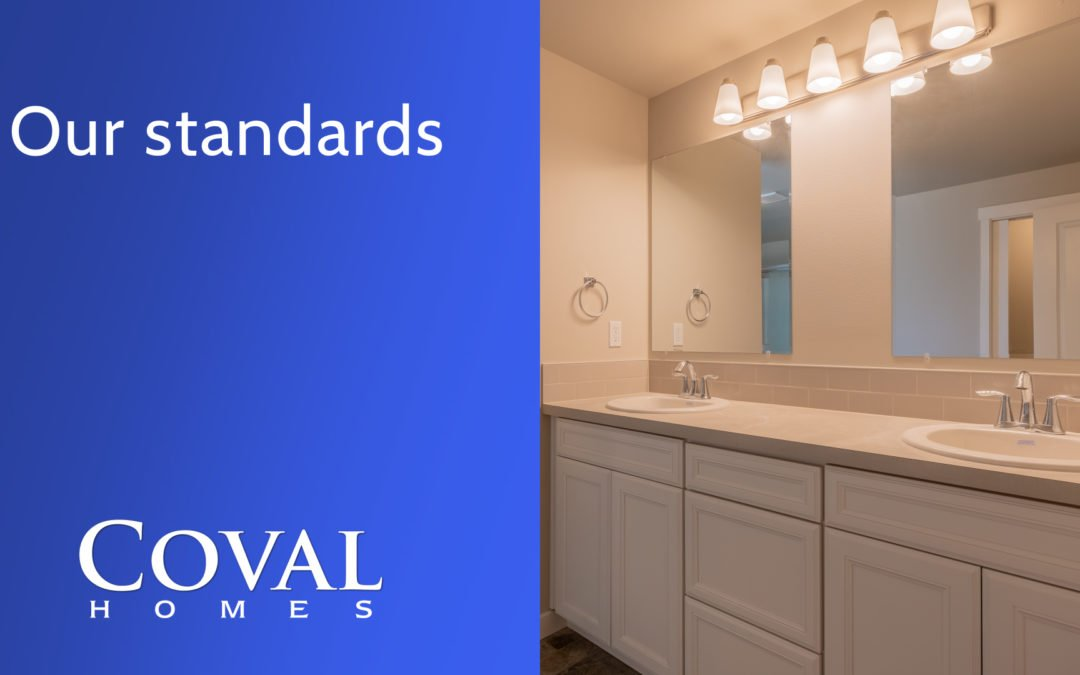 The Coval Homes Common Plan Standards